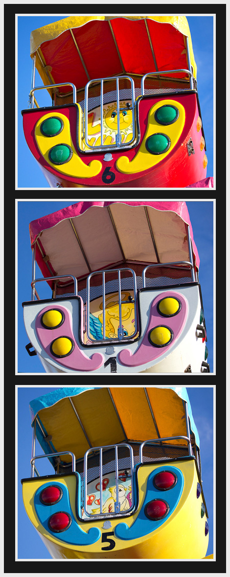 Ferris wheel cars