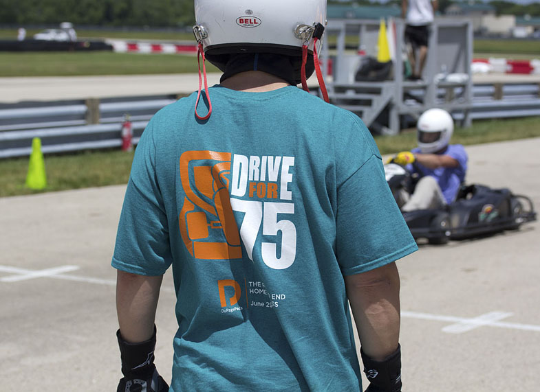 Drive for 75 racer